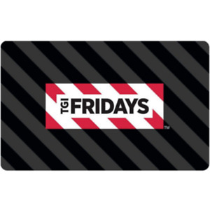 Buy $60 TGI Friday's Gift Card, get an additional $15 ($75 card value) - Emailed