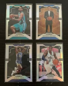 2019-20-Prizm-Basketball-Rookies-Lot-ALL-SILVER-Poole-Martin-One-Sirvydis