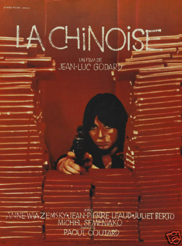 La chinoise 1967 Jean-Luc Godard Movie poster print