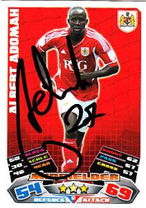 Sports Trading Cards ASTON VILLA HAND SIGNED ANTONIO LUNA MATCH ATTAX CARD 13/14.