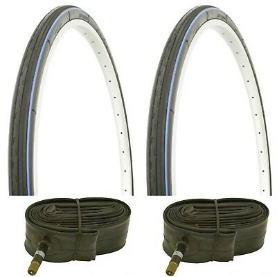 26x1-3//8 BLUE Bicycle Tires ISO:590For Roadster Bikes 2xTires/&Tubes