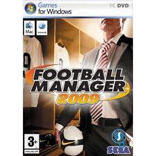 FOOTBALL MANAGER 2009 SEGA PC DVD-ROM FR COMPLET