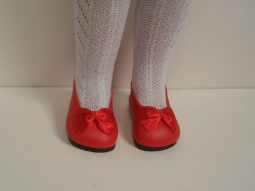 "RED Princess SlipOn Flats w//Bow Doll Shoes FOR 16/"" 17/"" Sasha Debs"