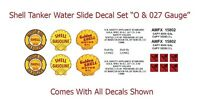 Shell Tanker Car Water Slide Decal Kit Lionel, Flyer, Marx & Others