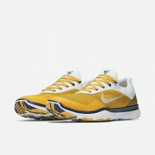 Nike West Virginia WVU Mountaineers Free Trainer V7 Week Zero Shoes AA0881 701