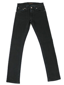 Nudie-Damen-Stretch-Jeans-Slim-Straight-Fit-Super-Slim-Kim-W32-L32
