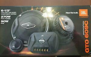 "JBL GTO609C Premium 6.5"" Component Speaker System Set"