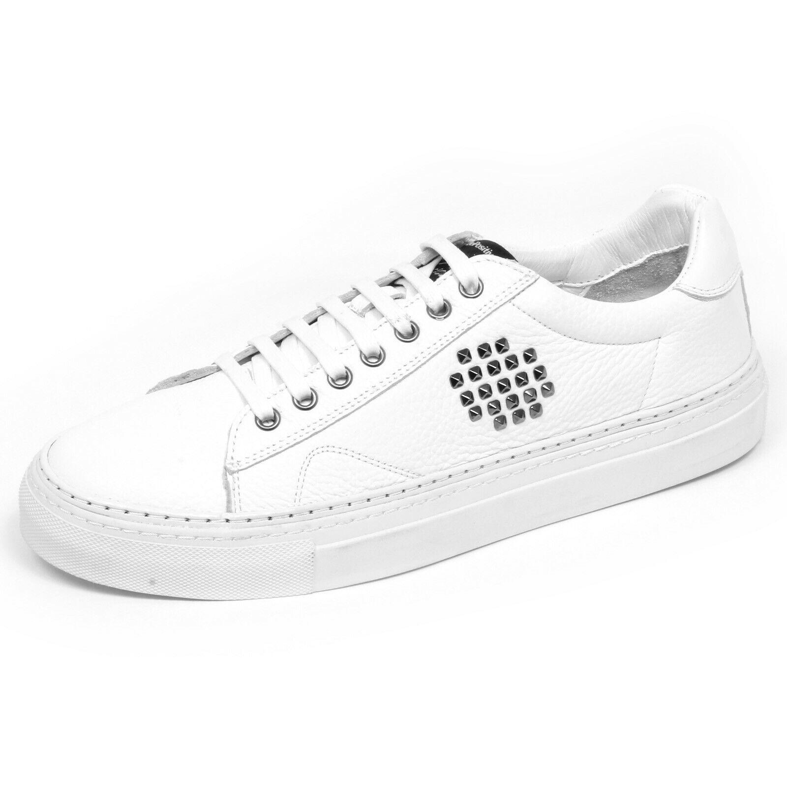 F6582 zapatilla de deporte hombres blancoo BEPOSITIVE X veezapatos Vintage Efecto Zapato hombre