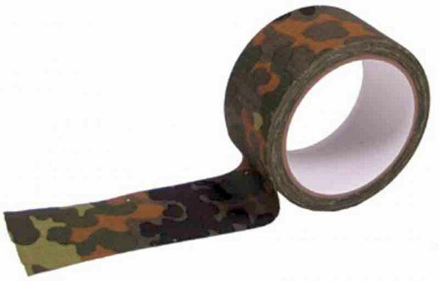 Klebeband Gewebe 5 cm x 10 m Panzerband Gewebeband Tarnband Tape 6 Farben NEU