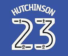 Hutchinson 23 2016-2017 Sheffield Wednesday Home Football Nameset for shirt