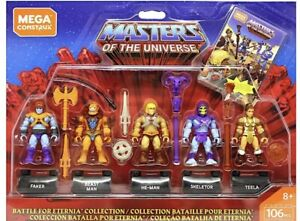 Masters-of-The-Universe-Set-5-Mini-Figures-Comic-Mega-Construx-gift-boy-heman
