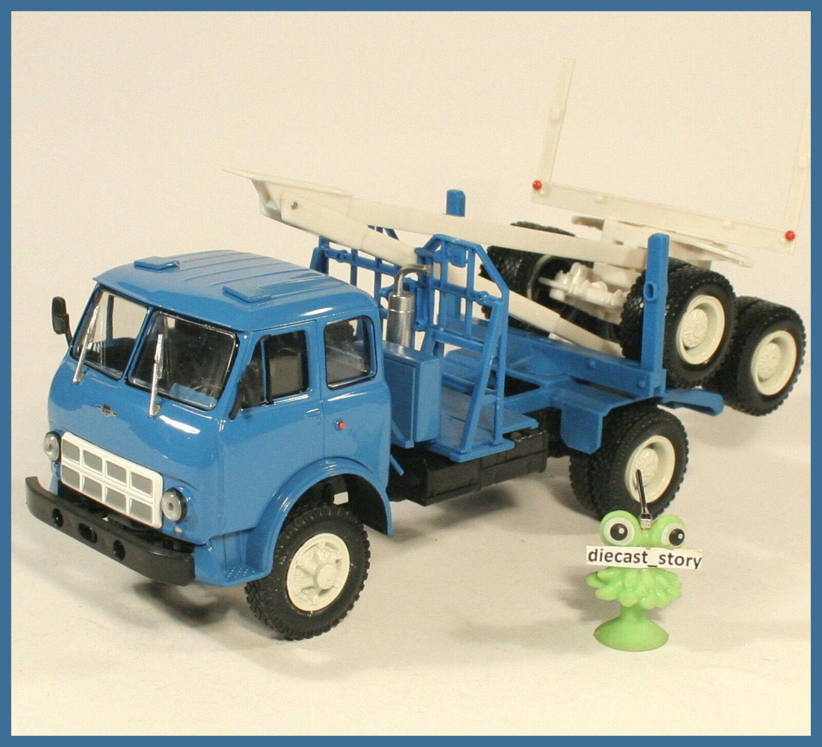 1 43 MAZ 509 A 4x4 1970 Logging forest truck Wald LKW USSR UdSS URSS DDR