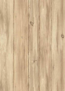 Tan-amp-Taupe-Knotted-Pine-Barnboards-Wallpaper-WL5542-Double-Roll