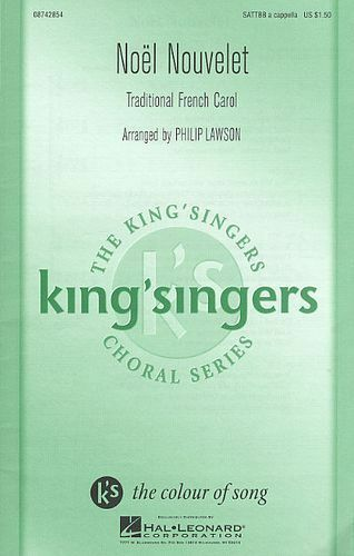 Noel Nouvelet SATTBB Vocal Choral Learn to Sing CHOIR VOICE Play Music Book