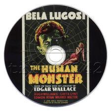 The Human Monster (1939) Crime, Horror, Mystery Movie on DVD