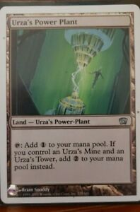 Urza/'s Power Plant Near Mint Normal English Magic the Gathering 8th Edition Card