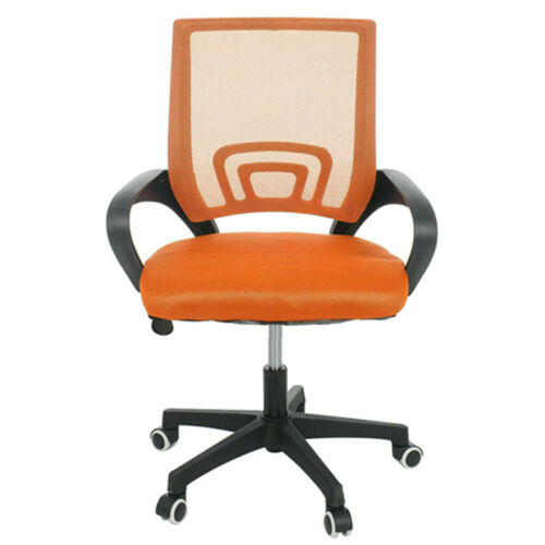 Adjustable Mesh Office Chair Executive Swivel Computer Desk Chair Fabric Seat