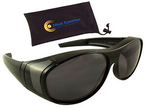 0d92fd36d2e54 Image is loading Polarized-Fit-Over-Sunglasses-Wear-Over-Glasses-Driving-