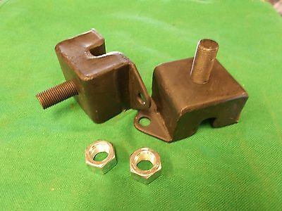 NEW PAIR ENGINE MOUNTS NUT SET  WILLYS FORD JEEP MB GPW M38 M38A1 CJ2A CJ3A CJ3B