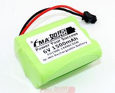 2Pcs Led Solar Light Rechargeable Backup Battery Ni-MH 6V 1500mAH SMP AA 5SW