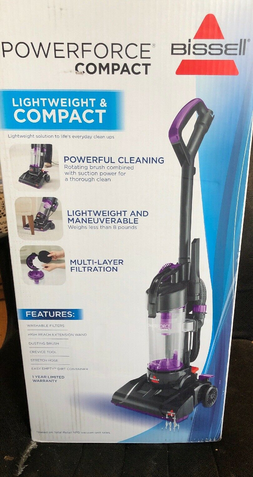 BISSELL POWERFORCE COMPACT MODEL 2112Z  Limited Edition Couleur  (violet)  en stock