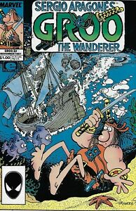 Sergio-Aragone-039-s-Groo-The-Wanderer-Comic-Issue-33-Copper-Age-First-Print-1987