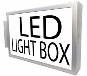Shop Sign Light Box Heavy Duty LED Illuminated Projecting Sign box Large size