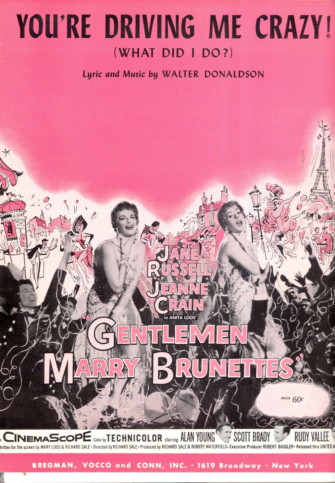 Gentlemen Marry Brunettes   You'Re Driving Me Crazy   Jane Russell Jeanne