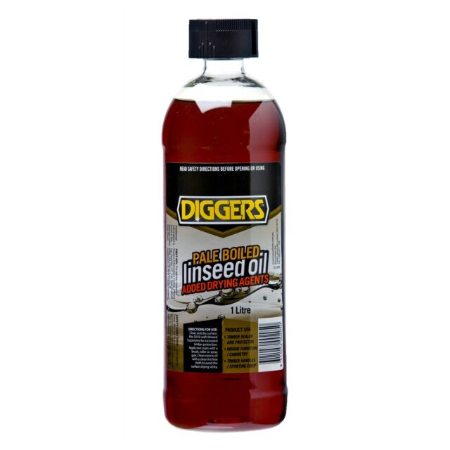 Diggers 1L Boiled Linseed Oil Fast Shipping from Sydney