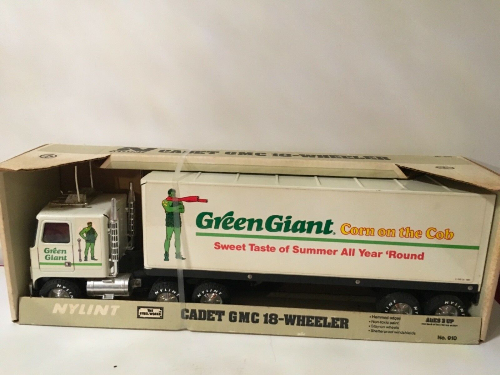 Nylint Cadet.Grün Giant Corn Truck GMC 18-Wheeler Pressed Steel