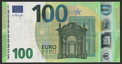100 euro banknote 2019 UNC Prefix-UC France