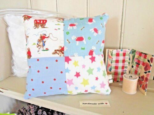 Cushion Craft Kit Cath Kidston Star Stanley Dog Cowboy Fabric Patchwork Keepsake