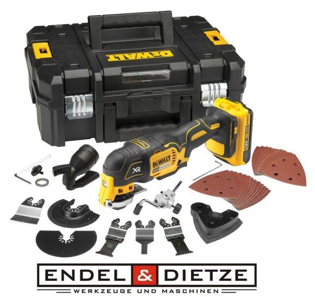 DeWalt DCS355D2 18V XR Akku Multi-Tool Multifunktionswerkzeug inkl. Zubehör-Set