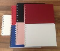 A5 20 pages Acid Free - Blank Mountboard Scrap Book / Guest Book  Photo Album
