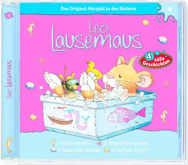 Leo Lausemaus - Folge 4 (Will nicht baden) - Hörspiel - CD - *NEU*