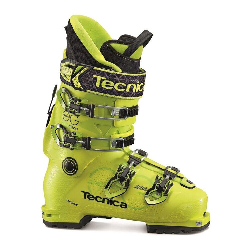 2017 Tecnica Zero G Guide Pro Yellow Mens Ski Boots