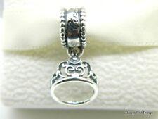 Authentic PANDORA 925 Sterling Silver Charm Disney Cinderella's Tiara 791570
