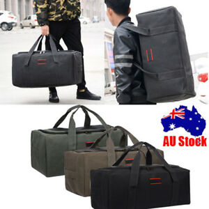 461e01a906 Image is loading Large-Capacity-Men-Luggage-Canvas-Travel-Shoulder-Bags-
