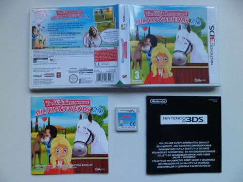 1 of 1 - The Whitakers present Milton and Friends 3D (Nintendo 3DS, 2012)
