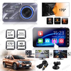 "XGODY 4/"" Dash Cam HD 1080P Car DVR Camera Video Recorder G-Sensor Hardwire Kit"