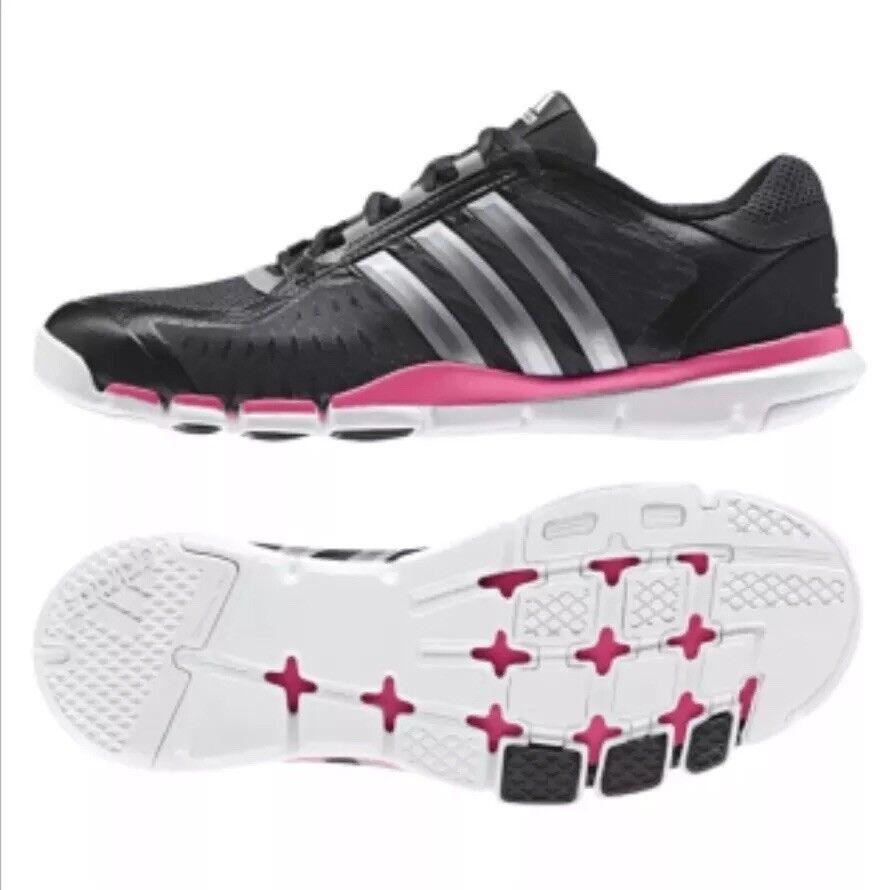 Neue adidas größe a.t. 360 kontrolle größe adidas 8 frauen schwarz und pink cross - trainer 6bcbad