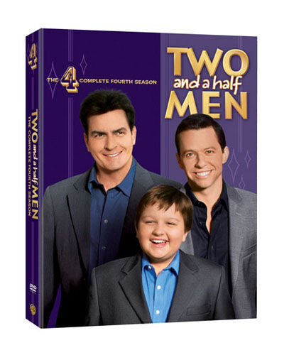 1 of 1 - Two And A Half Men - Series 4 (DVD, 2008, 4-Disc Set, Box Set)