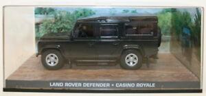 Fabbri 1/43 Scale Diecast Model - Land Rover Defender - Casino Royale