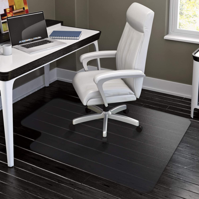Hynawin Office Chair Mat For Hard Floors 36 47 Heavy Duty Clear Wood Tile For Sale Online