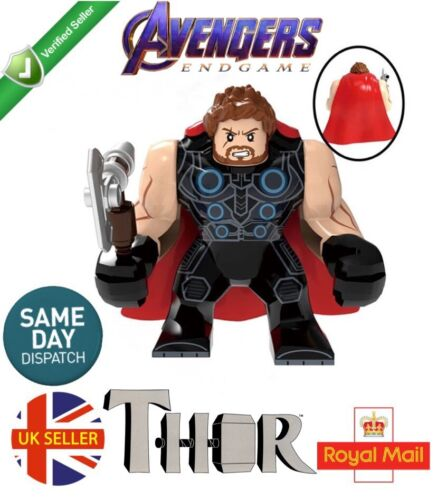 Thor Large Mini Figure Marvel Avengers End Game Odin Stormbreaker UK Seller