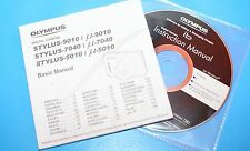 GENUINE ORIGINAL OLYMPUS BASIC MANUAL SOFTWARE CD OLYMPUS STYLUS 9010 7040 5010