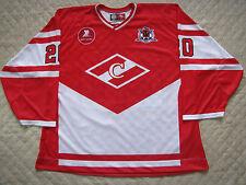 SPARTAK MOSCOW - GOALIE CUT Professional KHL Russian Hockey Jersey #20 3XL