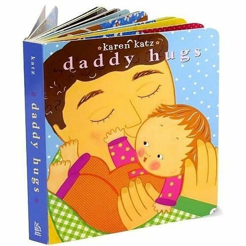 1 of 1 - Daddy Hugs (Classic Board Book)-ExLibrary