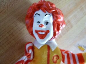 PVC-amp-Plush-Finger-Puppet-Toy-Ronald-McDonald-039-s-Classic-with-Tags-6-5-039-039
