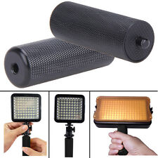 1/4'' Black Metal Handle Hand Grip Camera SLR DSLR Stabilizer for LED Flashlite